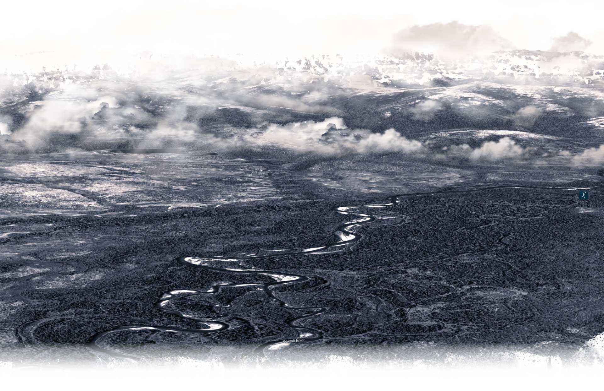 image of nushagak river